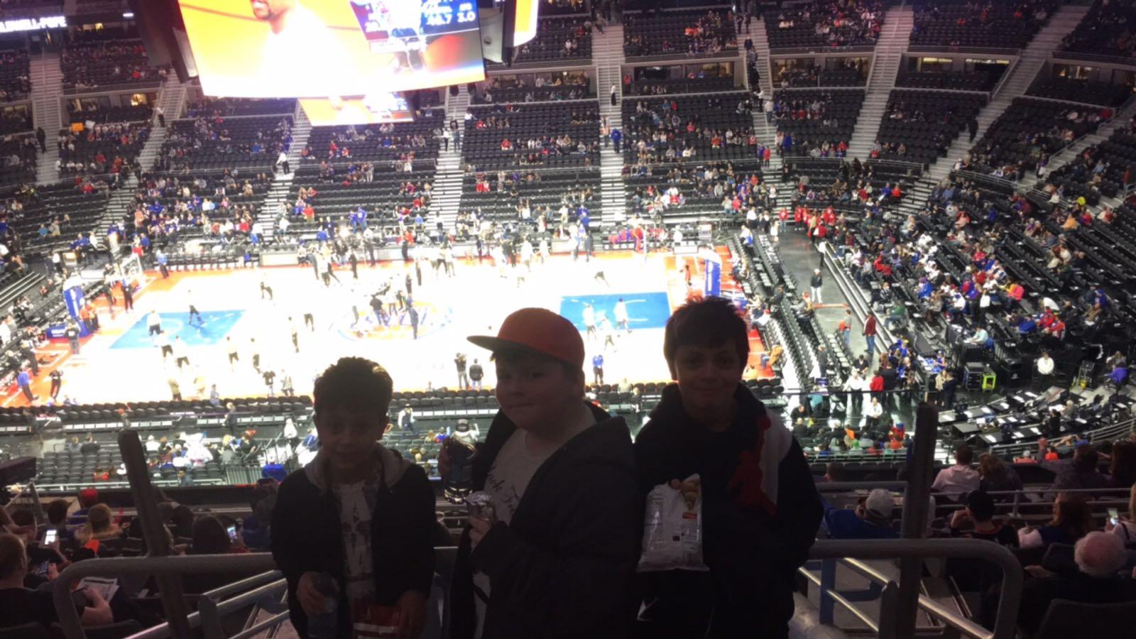 Pistons Field Trip: Saturday March 11, 2017 » Mrs. Abdulla