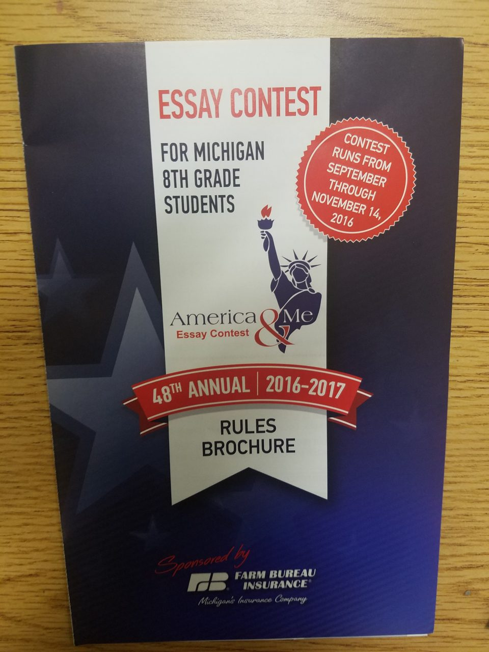 michigan hero essay contest Is anyone familiar with the america & me essay contest hosted by farm bureau insurance well, i live in michigan, and all of the eighth grade is required.
