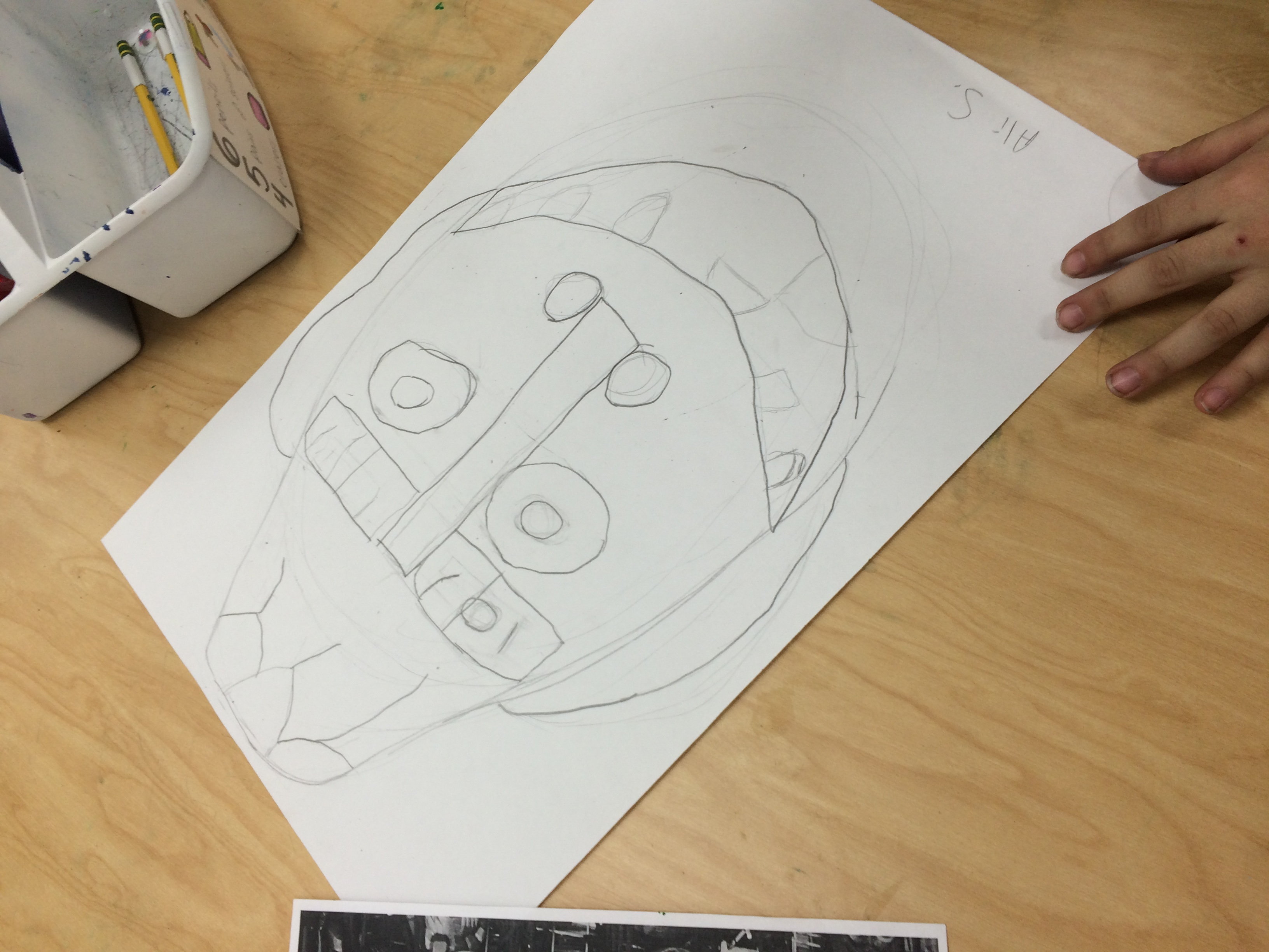 D Line Drawings Value : Fifth grade charcoal masks u art with ms bruce
