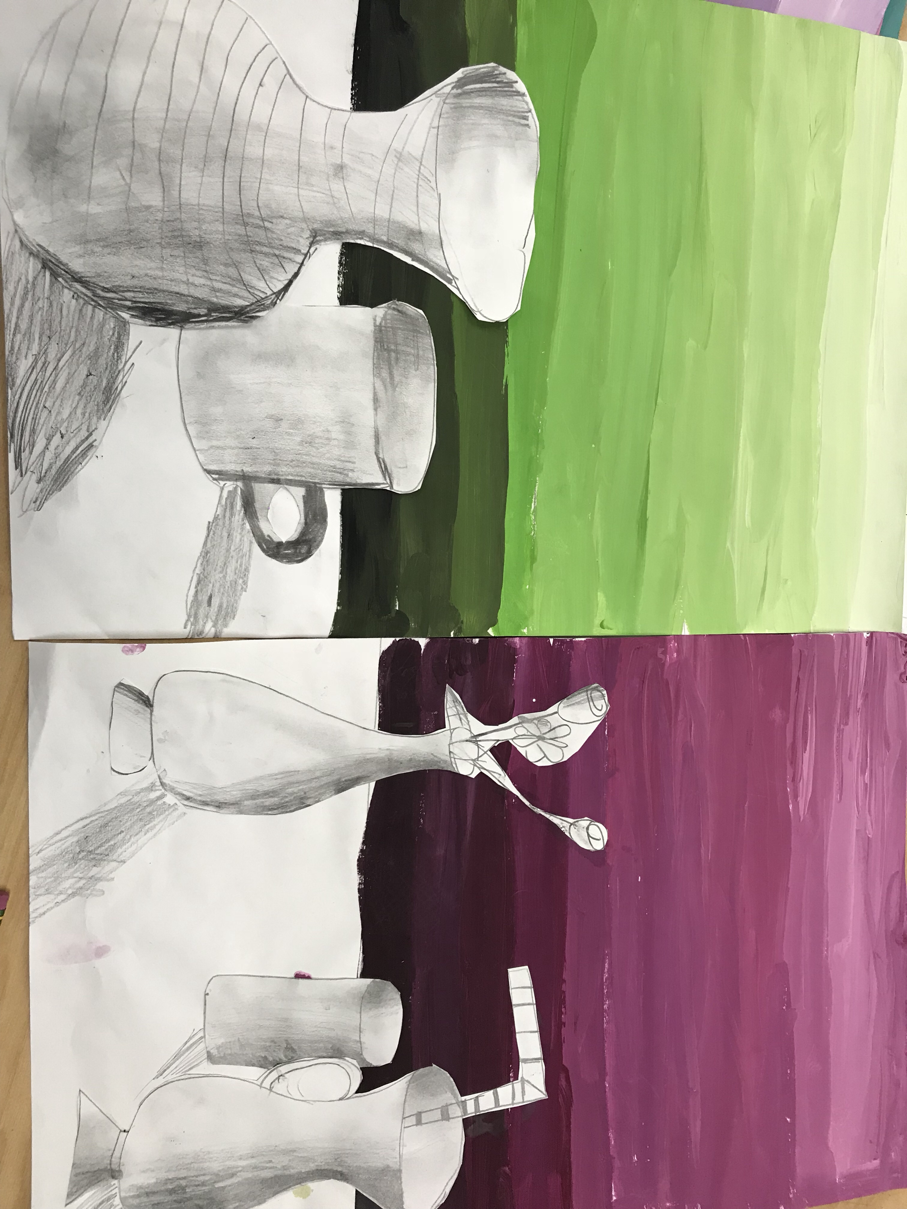 Fifth Grade Value Scale Still Life Art With Ms Bruce