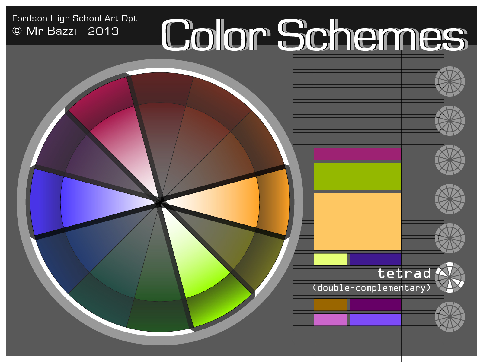 Color Schemes Tetrad 01