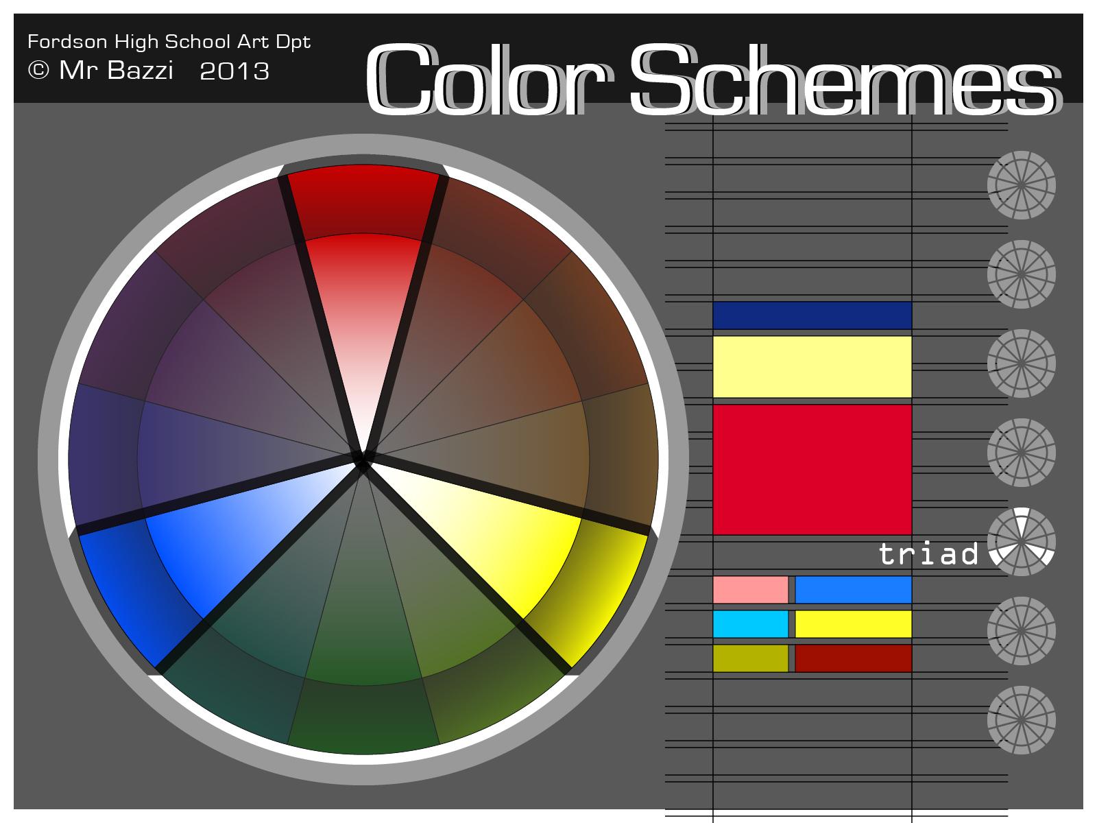 Color Schemes Bazzi Art