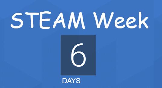 steam week in 6 days