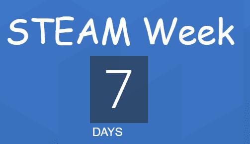 steam week in 7 days