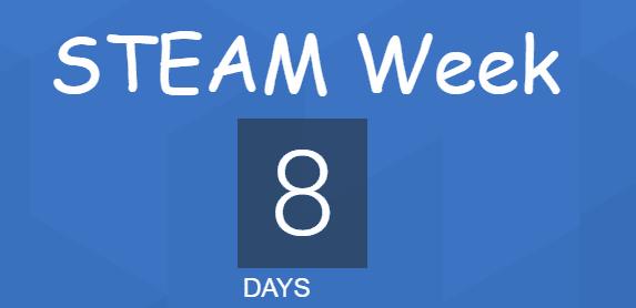 8 days until steam week