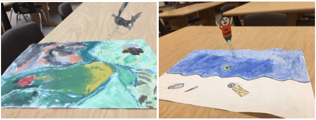 examples of student artwork