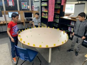students display their science project