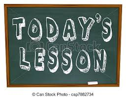 Stock Photo - Today's Lesson | Clipart Panda - Free Clipart Images