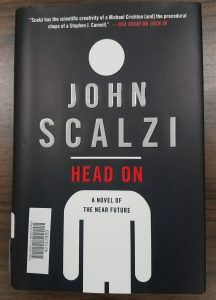 Book Cover Head On by John Scalzi