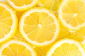 Lemon Slices Background Stock Photo, Picture And Royalty Free ...