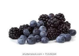 Blueberries and Blackberries Images, Stock Photos & Vectors ...