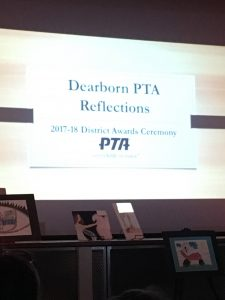 PTA Reflections Ceremony at Stout Middle School