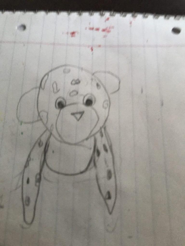 stuffed animal drawing