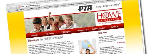 Howe PTA Website Image