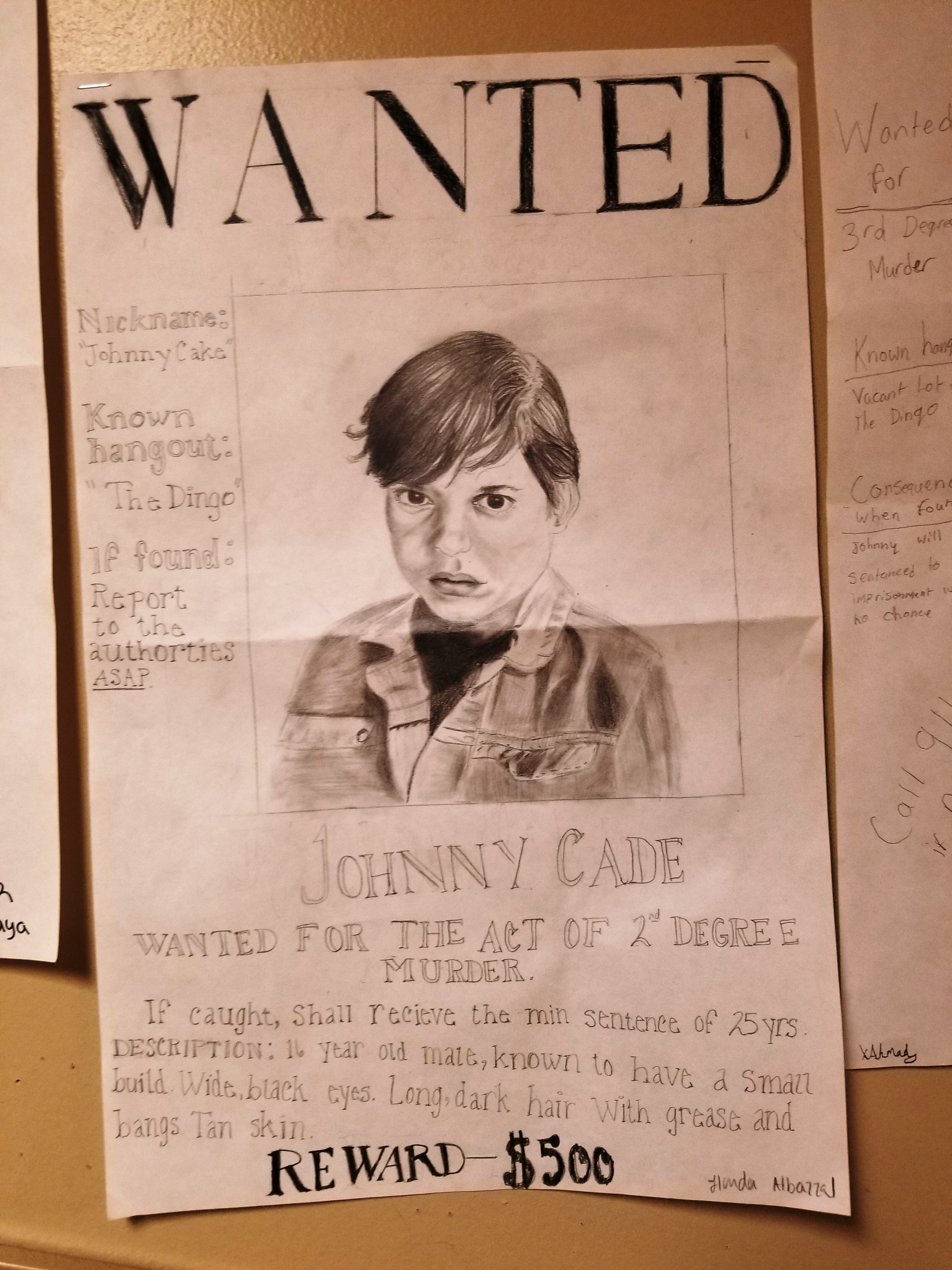Fine Sample Wanted Poster Gallery - Administrative Officer Cover ...