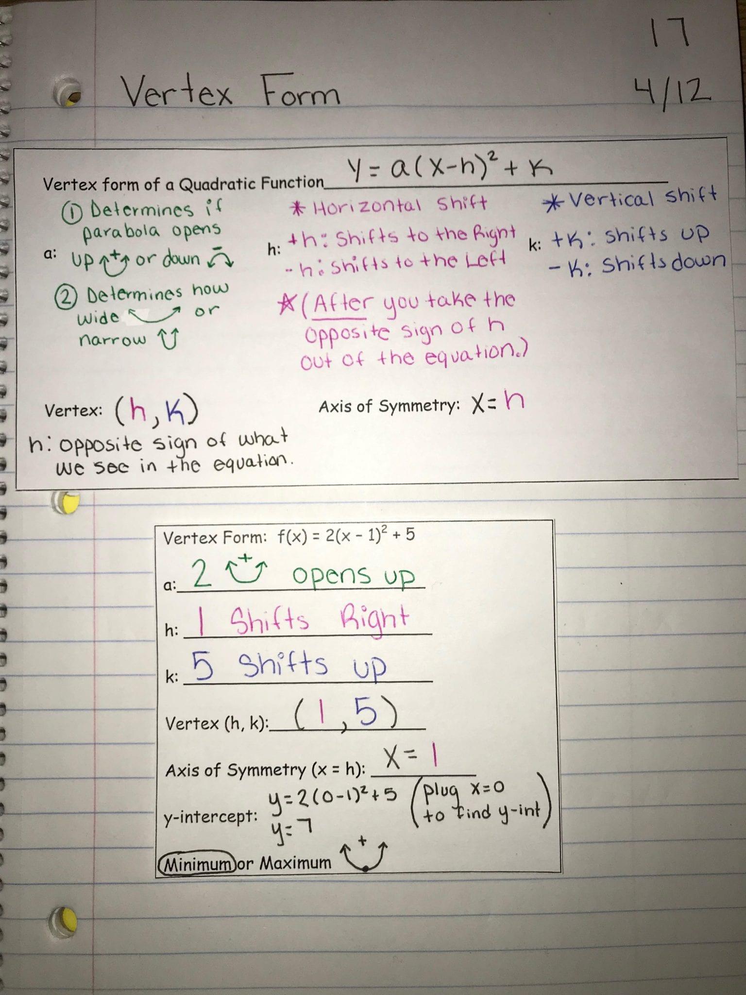 April | 2019 | Algebra 1