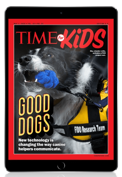 Time for Kids Magazine Cover