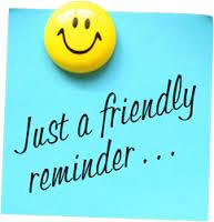 Friendly Reminder Pic