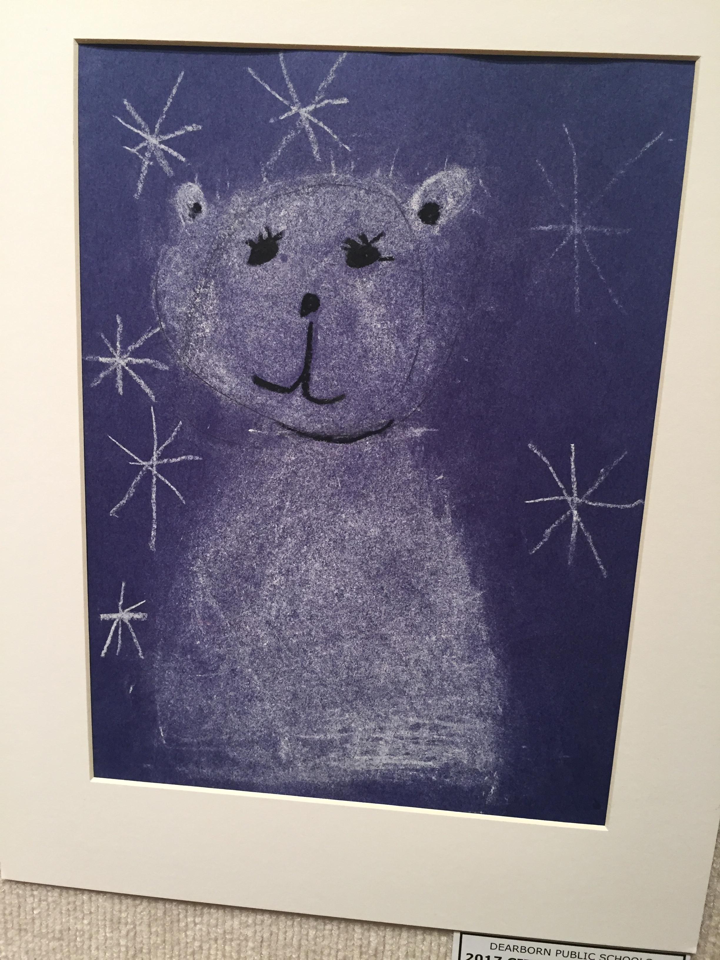 student art gallery  u2013 polar express