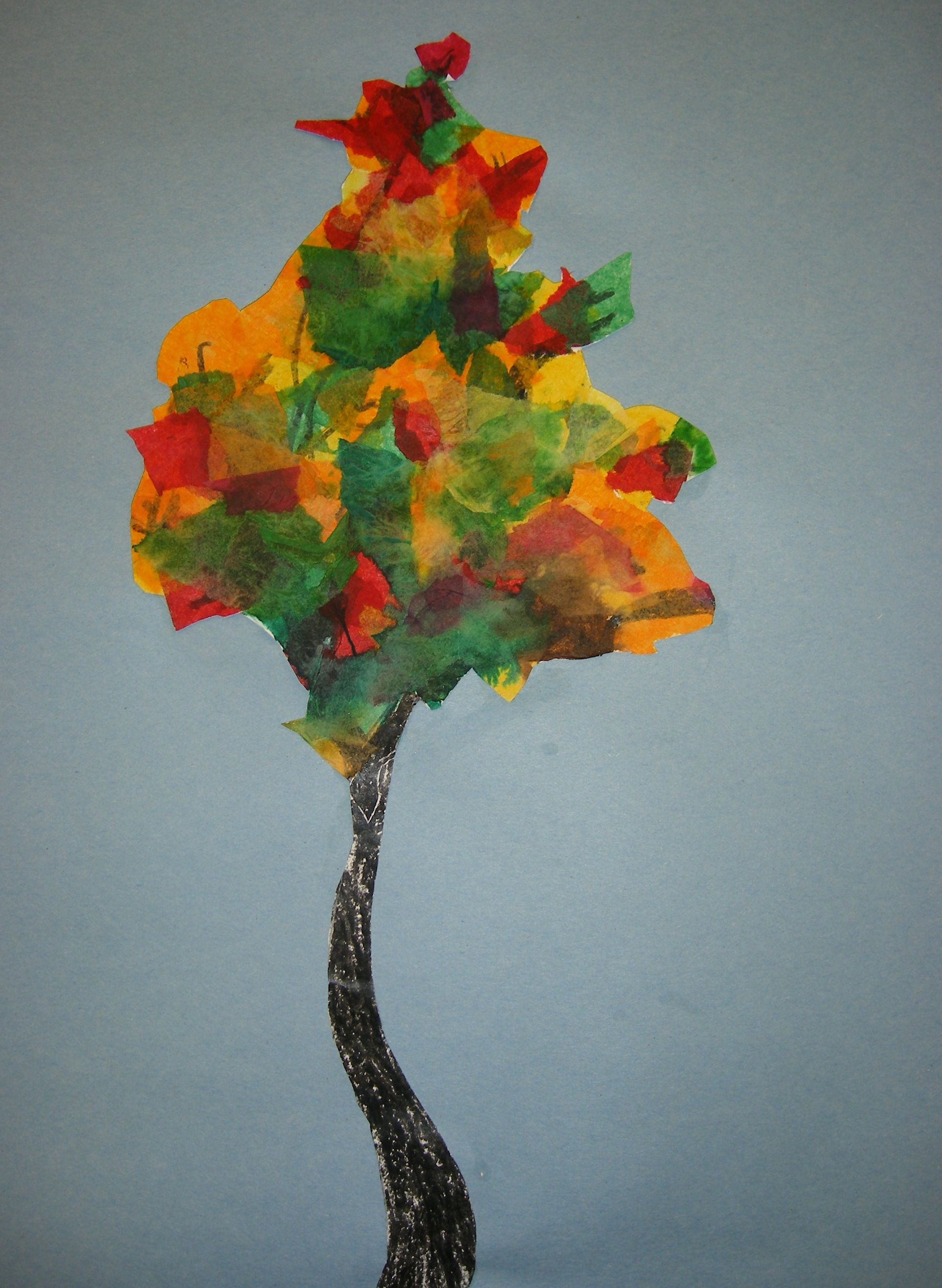 2nd Grade Fall Trees Maples Elementary K5 Art Mrs Briggs