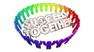 Success Together People Working Cooperation 3d Animation Motion Background  - Storyblocks