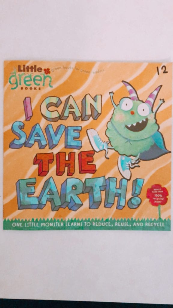 Picture of Book Cover I Can Save the EArth