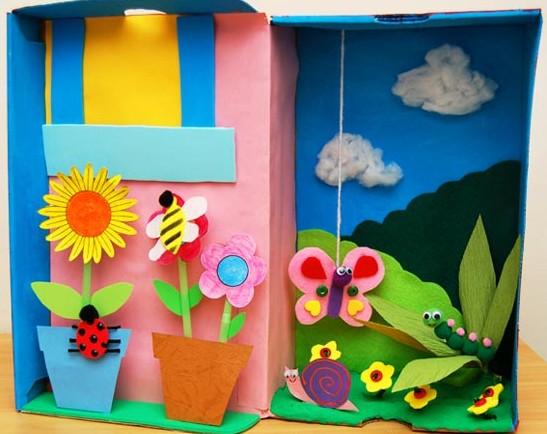 Подделки из бумаги своими руками в детский сад