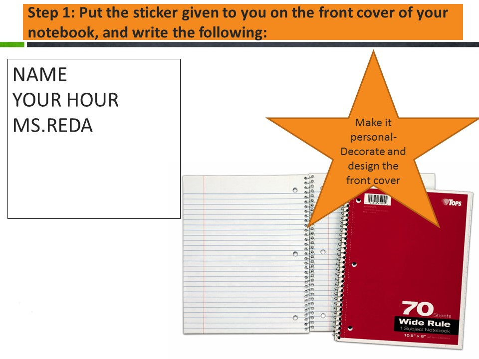 What is the interactive notebook? Directions for Setting up  – Ms