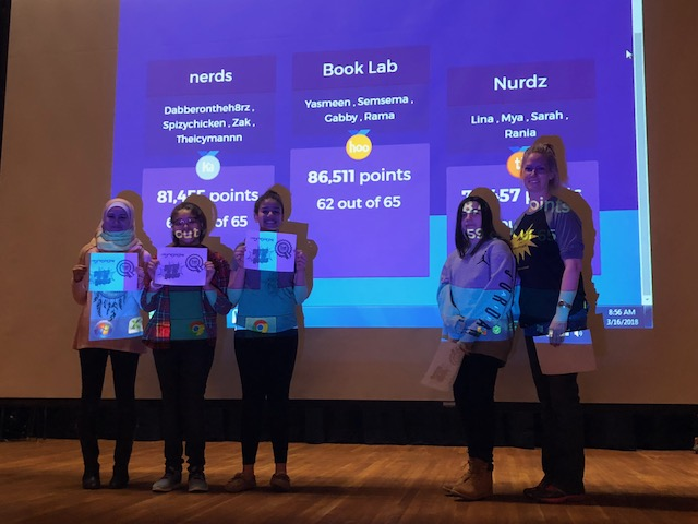 Winners of Battle of the Books