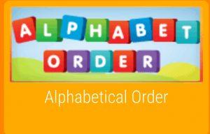 Link to alphabet game