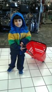 Bashir pulling his cart!