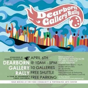 Dearbprn Gallery Rally event on April 6, 2019