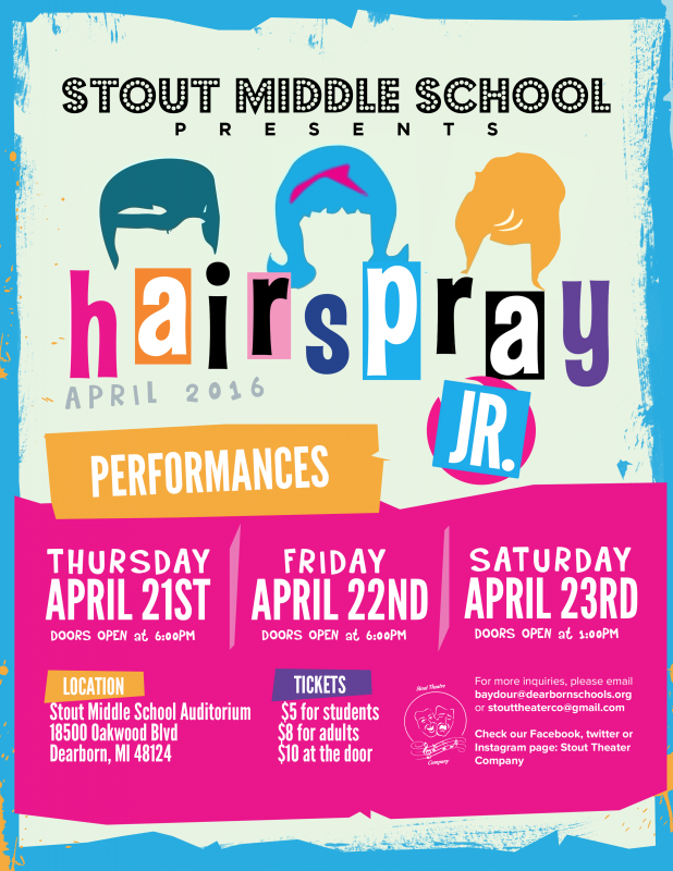 Hairspray Jr. – Stout Theater Company