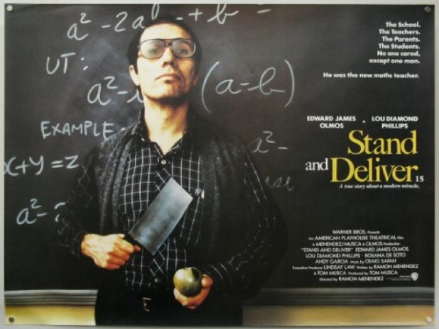 an analysis of jaime escalantes character in stand and deliver by ramn menndez