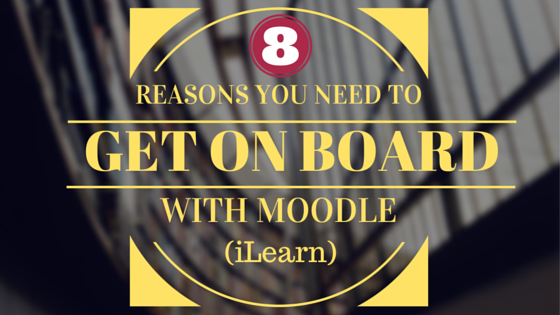 Reason #5: Moodle is Sustainable
