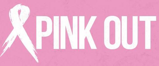 breast cancer ribbon pink out