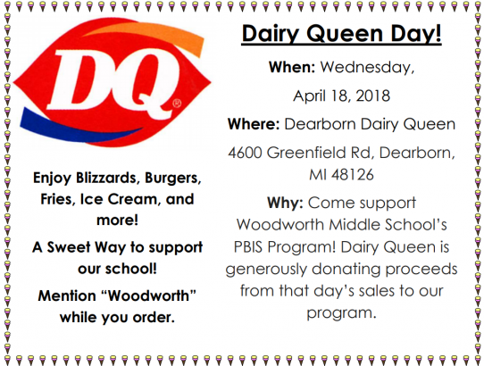 Dairy Queen Day Tomorrow!