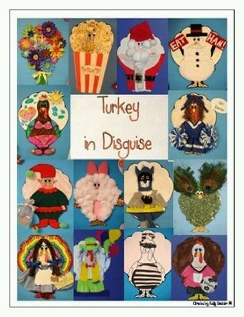 Classroom Newspaper Ideas ~ Family turkey projectms wentland s kindergarten class