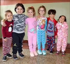 Adelphi Academy embraces pajama day during school's Spirit Week